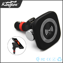 Auto charging Mobile Holder Car e-cigarette 5W wireless multi charger dock