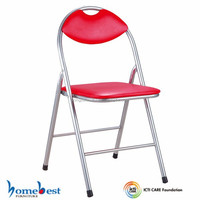 Padded Metal Folding Chairs