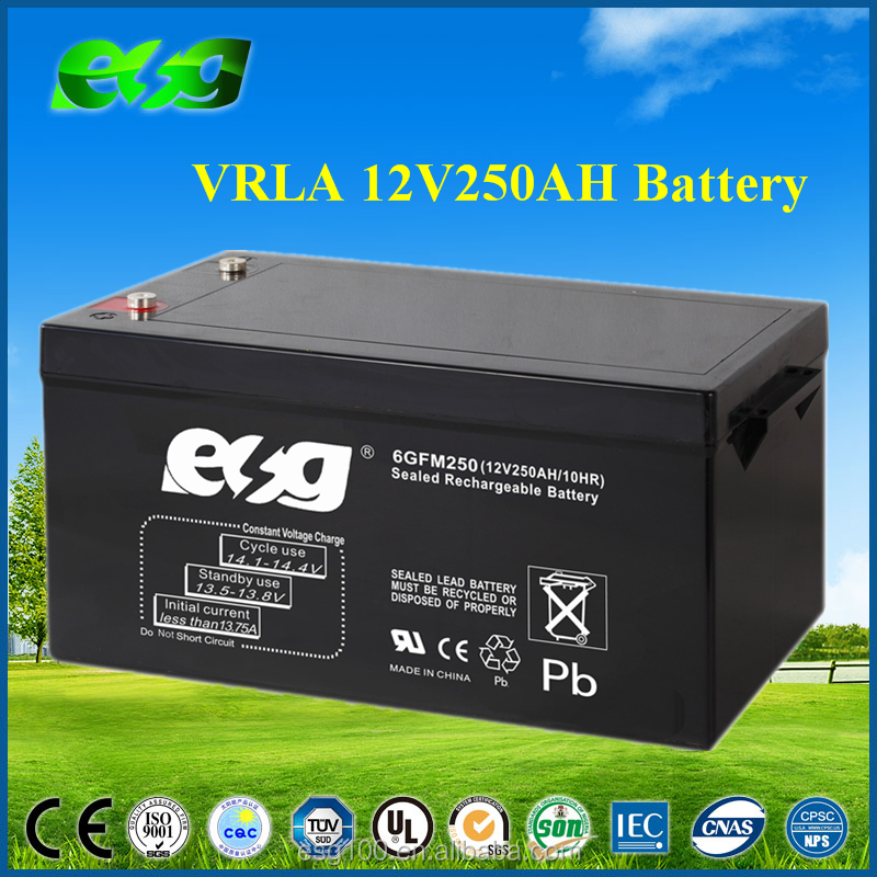 Deep cycle Solar Battery 12V 200Ah 250ah long life span agm Batteries