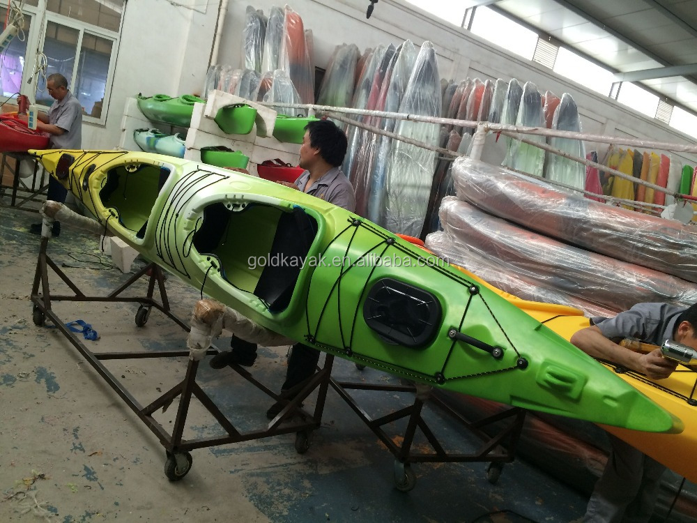 double plastic sea kayak