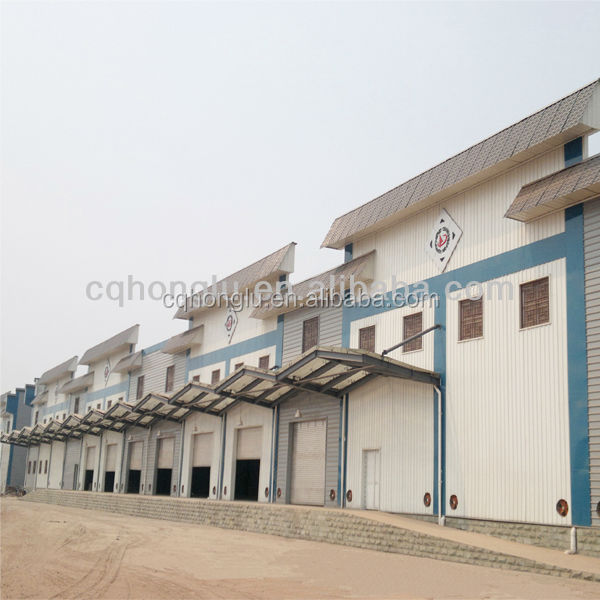 Prefabricated Steel Structure Shed Building