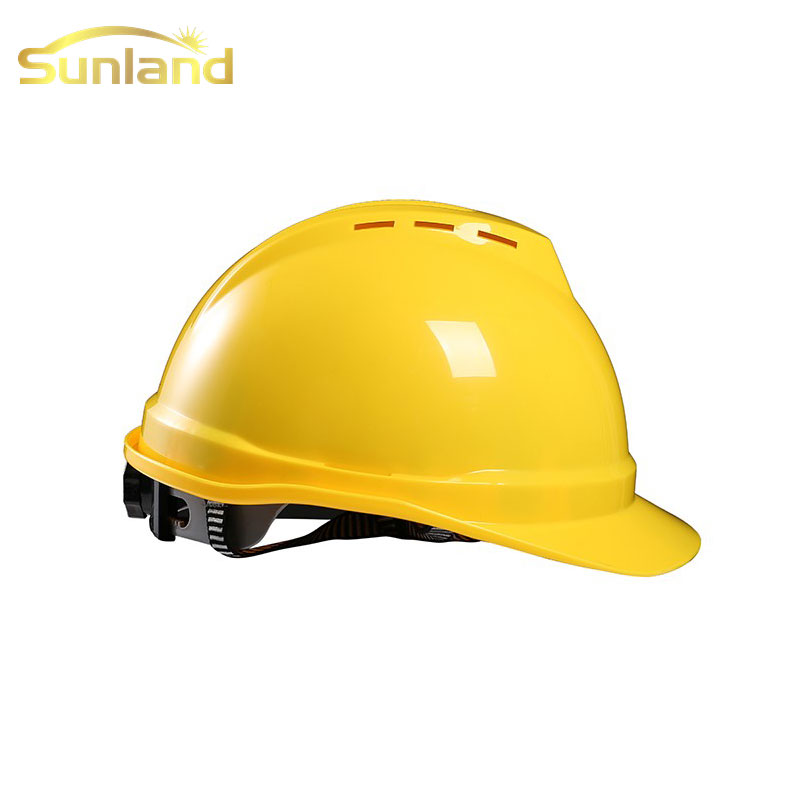 Hot sales fuxing best orange safety helmet for construction