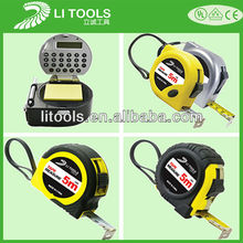 3m 5m 10 meter digital electric laser steel metal measuring tape measure
