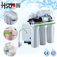 Five Stages Water Reverse Osmosis Systems
