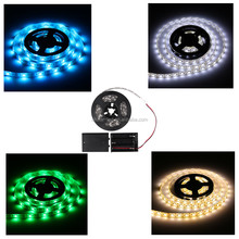 4.5V LED Strip Light Battery Operated 50CM RGB Waterproof Craft Hobby Light Hot Selling with Battery Box