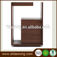 Customized cheap price rustic wooden bedroom wall cabinet