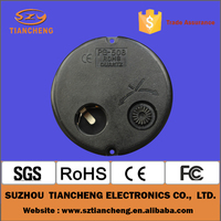 TC-508D round rohs quartz clock movement