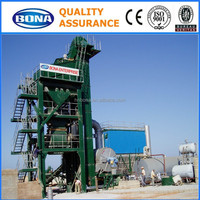 china famous brand 160t/h stationary asphalt mixing plant