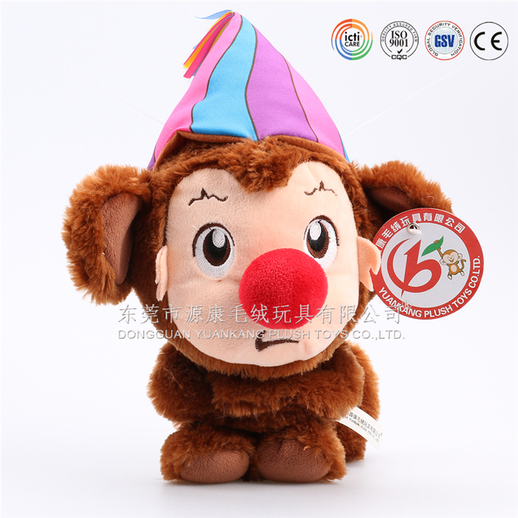 voice controlled recording talking and walking plush monkey toys