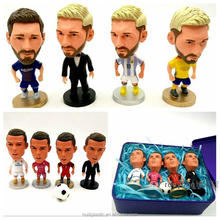 pvc sports action figure toy, plastic sports figurine stars, oem sports team pvc figurines