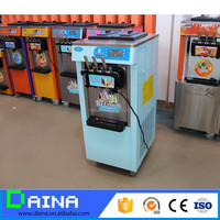 CE hot sale 3 flavors table top ice cream machine soft serve for sale