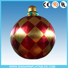 Giant inflatable ornaments for christmas for indoor haning decor,celling decoration inflatables