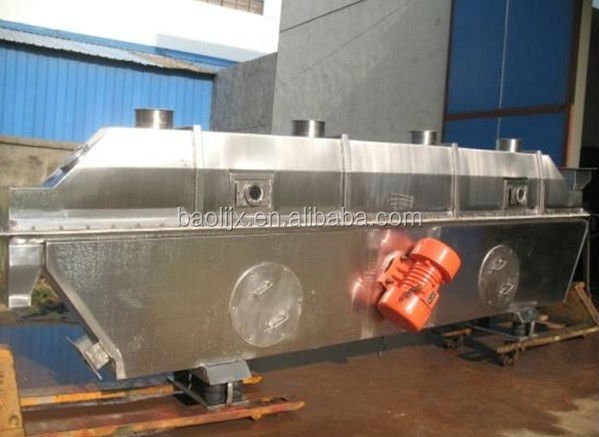 Chemical product Vibrating fluidized bed dryer with low noise