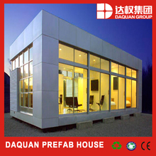nice design and advanced house building glass sheets luxury villa house