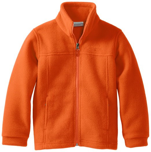 kids orange Polar Fleece Jacket