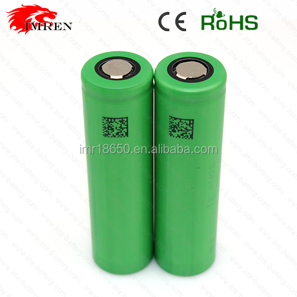 US18650 V3 rechargeable battery with flat top us18650 battery v3 3.7v 2200mah battery