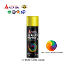 High quality acrylic Spray Paint price low / laptop spray paint/ brushed aluminum spray paint