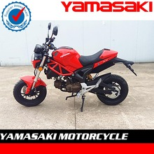 Hot selling 50cc pocket motorcycle street bike with EEC