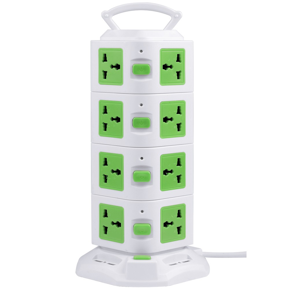 Universal Electrical Receptacle Types / Electrical Extension Socket With USB