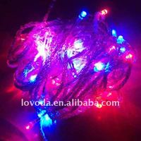 Led christmas light with 8 function controller/ led string light for christmas LFD-100RGB Any color available!!!