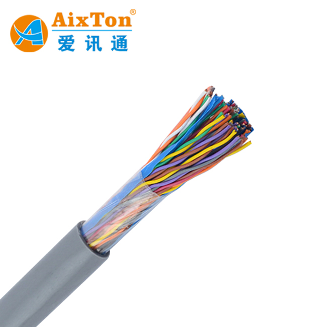 High Quality Cat3 Cat5 Outdoor Multi Pair Telephone Cable 2 10 20 50 100 200 300 Pairs Bare Copper CCA