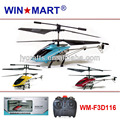 this month's special WM-F3D116 high quality 3ch metal gyro r c helicopter wholesale 24pcs/ctn