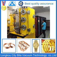 Gold Chain Jewellery Magnetron Vacuum Chrome Coating Machine