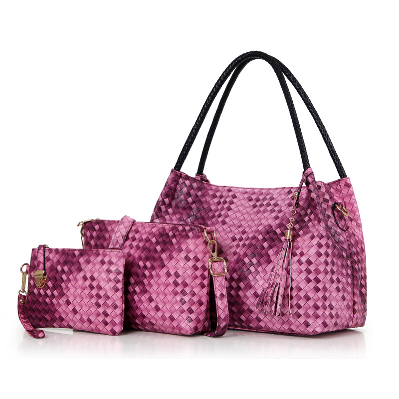 Dreambag OEM PU weave purses and handbags india