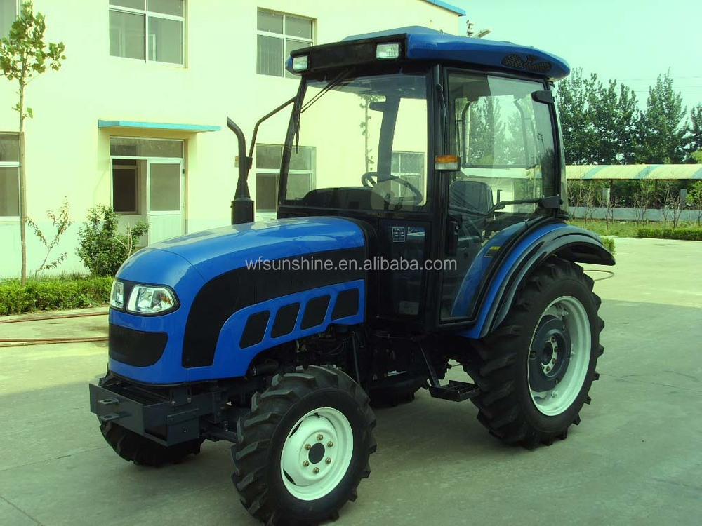 55hp 4WD farm tractor with cabin