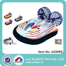 3 Channel rc hovercraft boat toy for sale