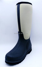 Cream High knee Neoprene Boots Hunting Boots Waterproof Boots