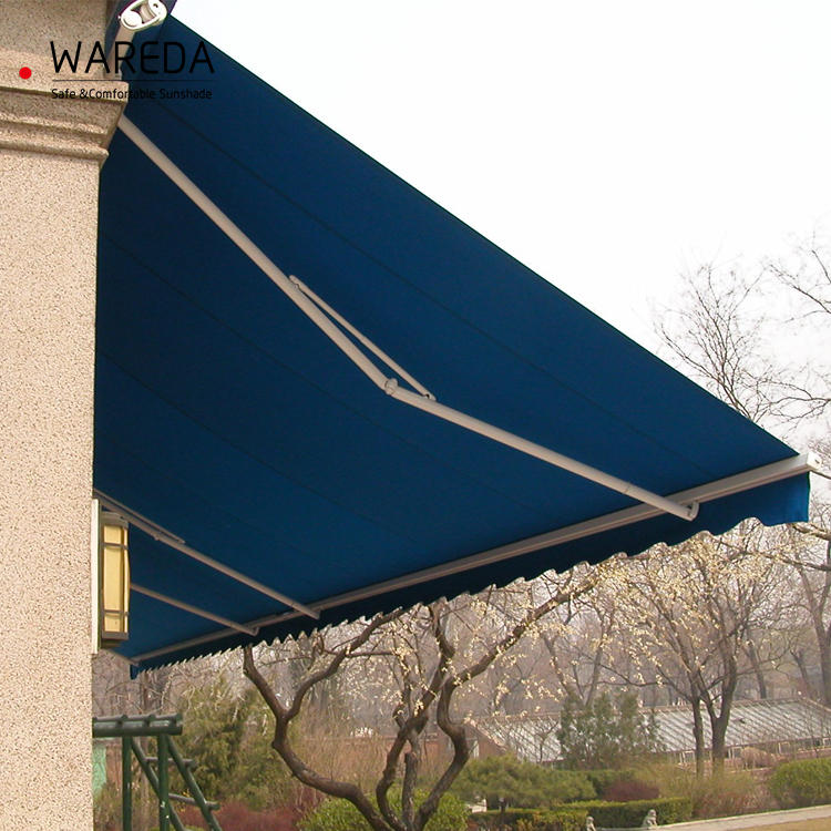 Retractable awning SR100 classical open awning without cassette