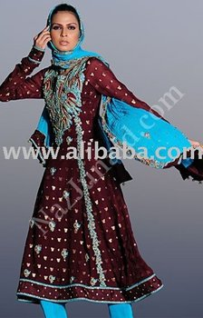 Maroon Pishwas indian clothing salwar kameez