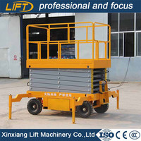 Easy to operate window cleaning lift with working height 8m