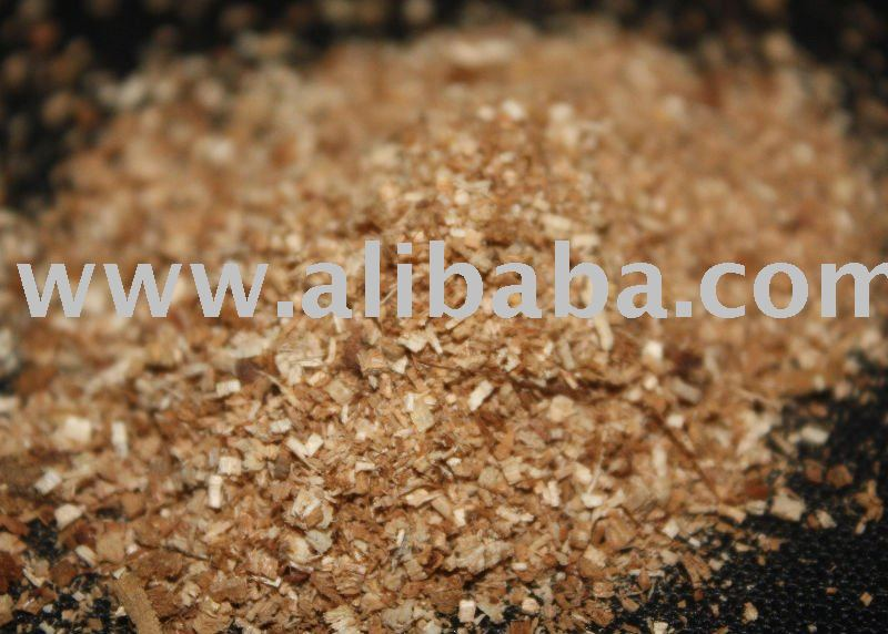 Wood sawdust for animal bedding and for fertilizer