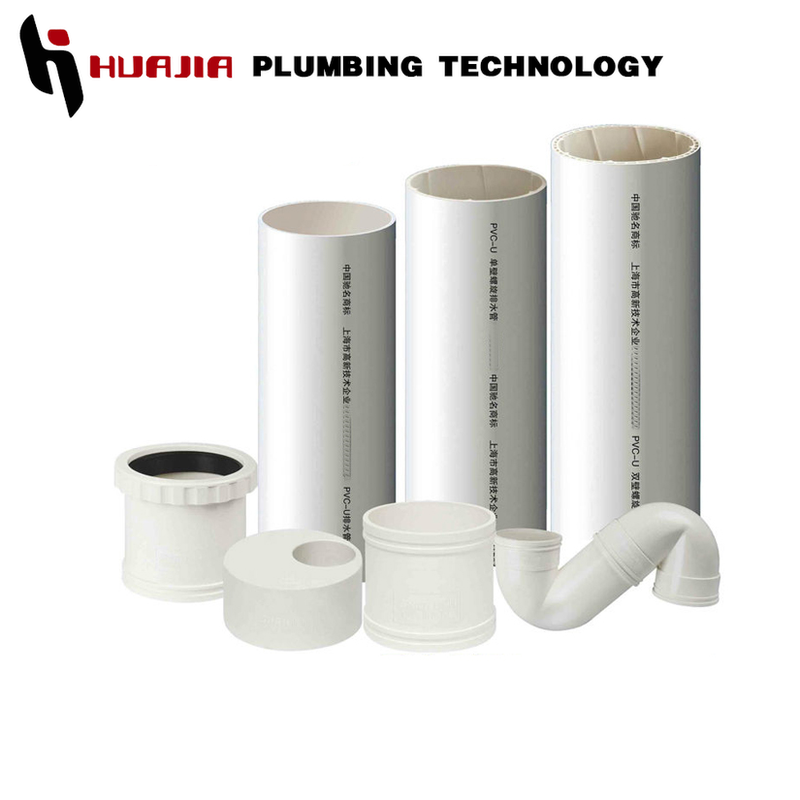 JH0264 48 inch pvc pipe pvc sewer pipe 200mm non toxic pvc pipe