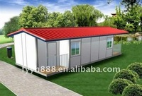 modern light steel frame prefab beach houses made in china