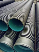 Good price Black HDPE Double Wall Corrugated Drainage Pipe