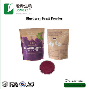 Natural Blueberry Fruit Powder Freeze Dried Fruit Powder With Retail Private Label