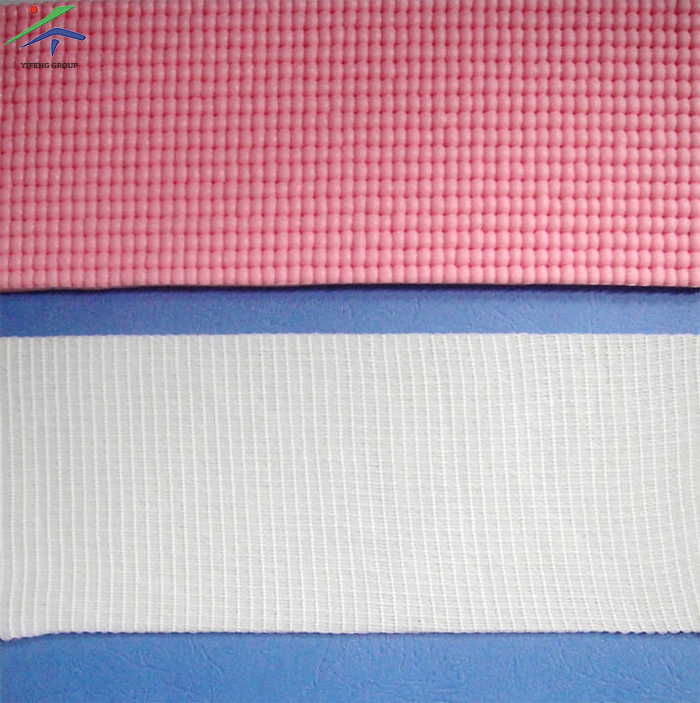 Polyester Mesh Fabric For Yoga Mat Manufacturing
