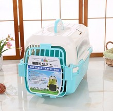 Heavy Duty Plastic Pet Flight Transport Dog Travel Cage Crate Wholesale