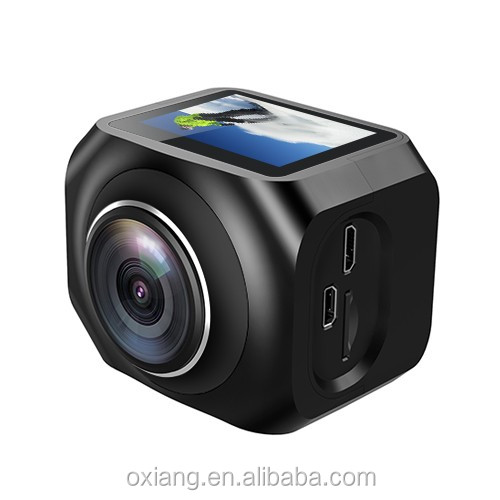 360 degree VR WiFi Sport Camera 220 Degree Wide Angle Action Camera