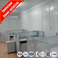 Economic modular flatpack office container