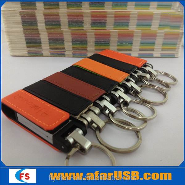 leather usb 2.0,Hot sale!leather usb stick with factory price for 8gb