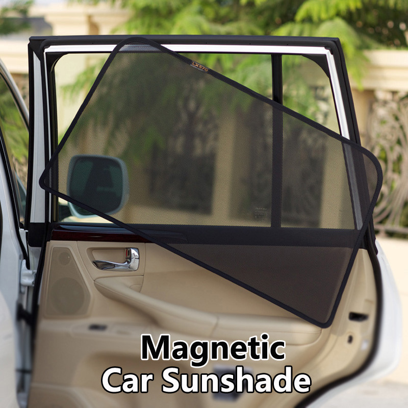 Magnetic mesh car window curtain for Civic 01-05