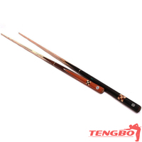 Hot sale good quality 3/4 snooker cue sticks cheap cue sticks drawing stick