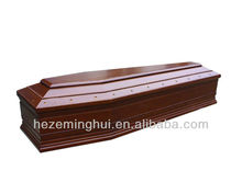 cheap solid wood coffin