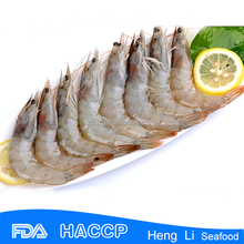 HL002 Frozen cooked vannamei headless shrimp exporter ecuador