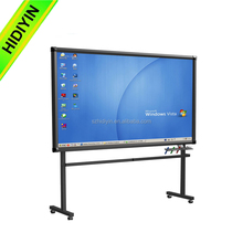 "Hot sale IR 10 point touch 65"" school board /smart board/interactive whiteboard for school with cheap price"