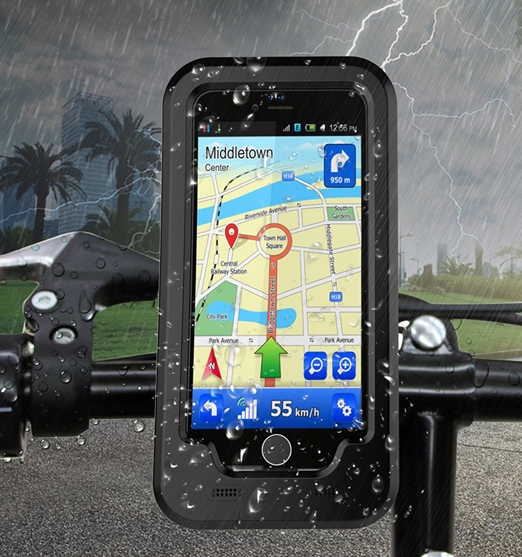 waterproof Bicycle holder phone case for iphone 7 plus 7g <strong>protective</strong>